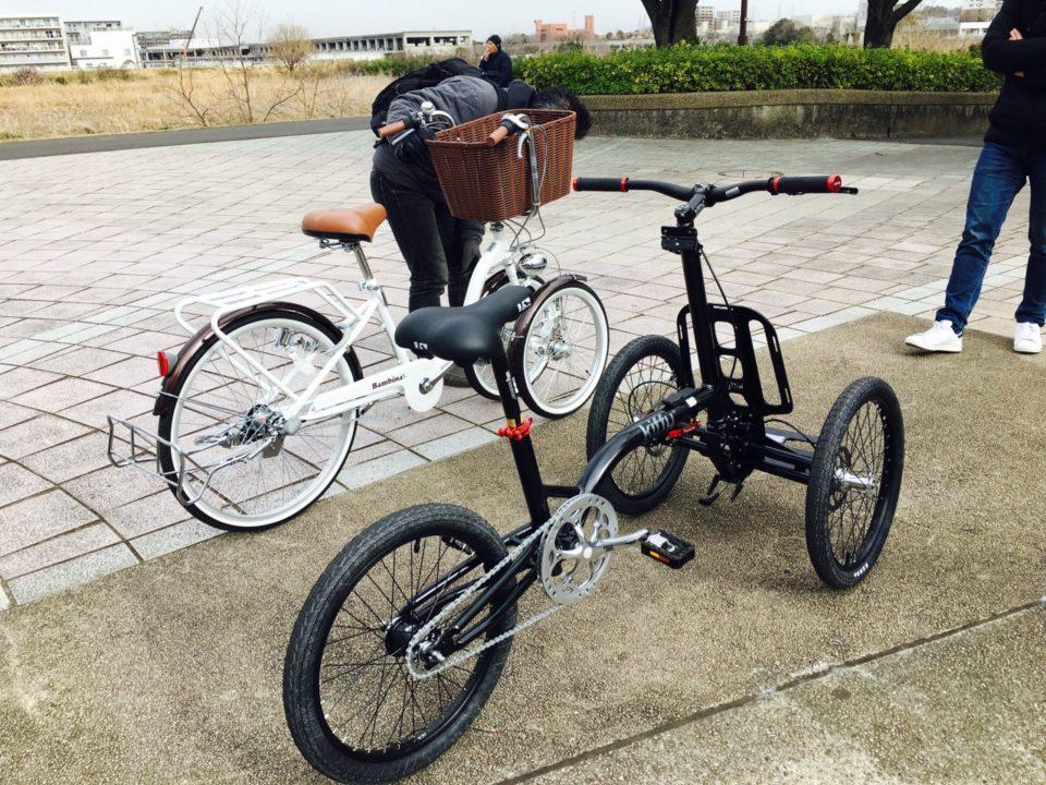 フランスの三輪自転車Kiffyと国産三輪自転車バンビーナを比較02